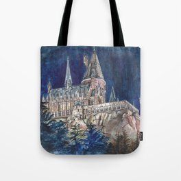 Hogwarts Painting  Tote Bag