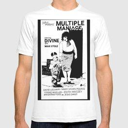 Multiple Maniacs DIVINE John Waters T-shirt