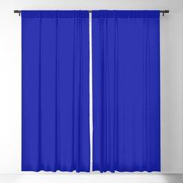 Azure Blue Solid Color Plain Blackout Curtain