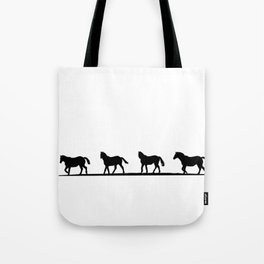 Trotting Home Tote Bag