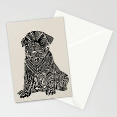 Polynesian Baby Pug Stationery Cards