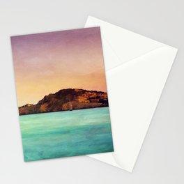 Glowing Mediterranean Stationery Cards