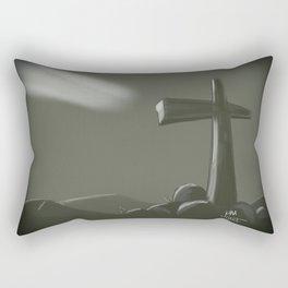 Inspired Cross Rectangular Pillow