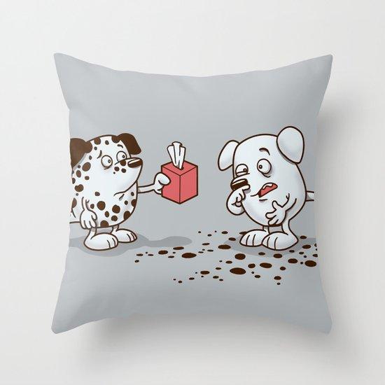 Gesundheit Throw Pillow