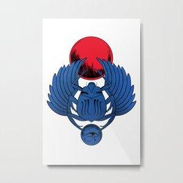 Escarabeo Metal Print