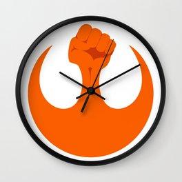 the resistance (light) Wall Clock