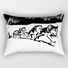 sknowledge // (husky team) Rectangular Pillow