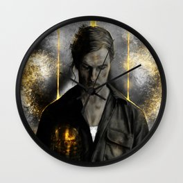 True Detective - Rust Cohle old Wall Clock