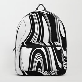 Stripes, distorted 2 Backpack