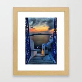Santorini 15 Framed Art Print