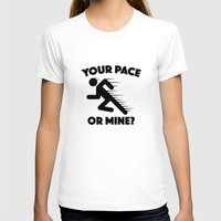 lee pace T-shirts featuring Your Pace Or Mine? by AmazingVision