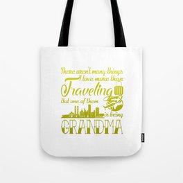 Traveling Grandma Tote Bag