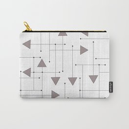 Lines & Arrows Carry-All Pouch