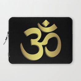 Om ( Aum ) Namaste yoga symbol Laptop Sleeve