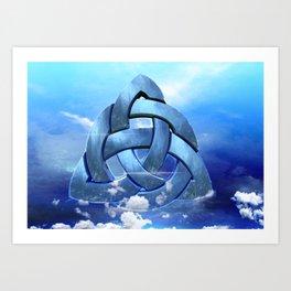 Sacred Geometry - Trinity 09 Art Print