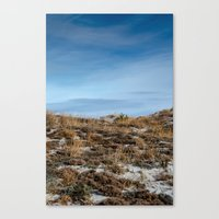 dune Canvas Prints featuring Dune by danpaola