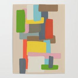 Abstract Kaoru Poster