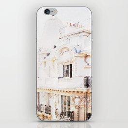 Paris Rooftops Watercolor iPhone Skin