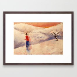 "Still From Animation ""A Journey to Recovery"" Framed Art Print"