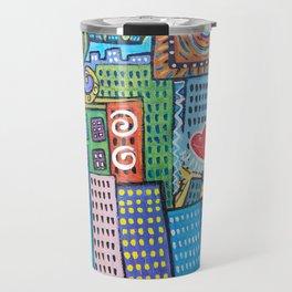 Pretty City two Travel Mug