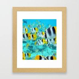 Water World Framed Art Print