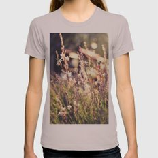 Flowers and light Womens Fitted Tee Cinder SMALL