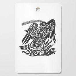 Phoenix Bird Tribal Tattoo Cutting Board