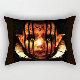 Satanic Alien Baby Rectangular Pillow