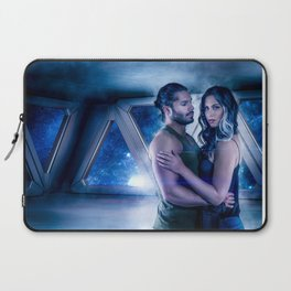 Terry and Char in Space Laptop Sleeve
