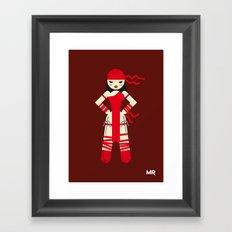 Elektra Framed Art Print