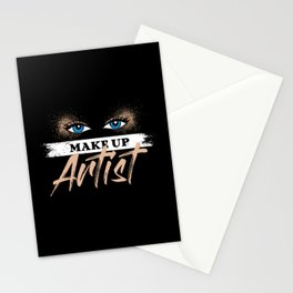 Make Up Artist Beautician Stylist Gift Idea Stationery Cards