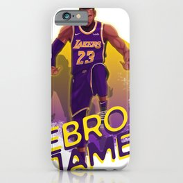 The Silencer Show LBJ iPhone Case