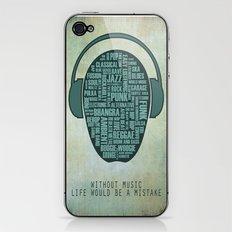 I love music iPhone & iPod Skin