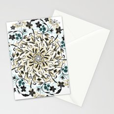 Floral Mandala Stationery Cards