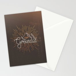 Stay Grounded Stationery Cards