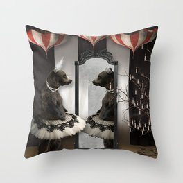 Midnight Reverie Throw Pillow