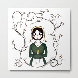 Over The Garden Wall- Lorna Metal Print