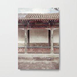 Mysterious East Metal Print