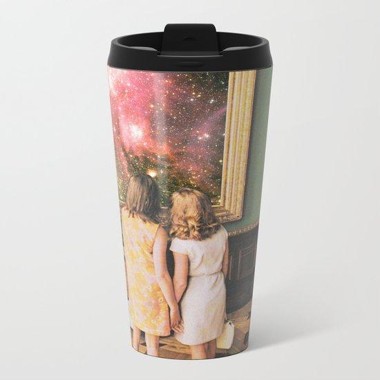 Su bella distancia Metal Travel Mug
