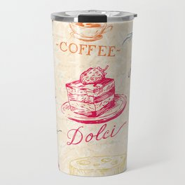Chef Food Coffee Wine Travel Mug