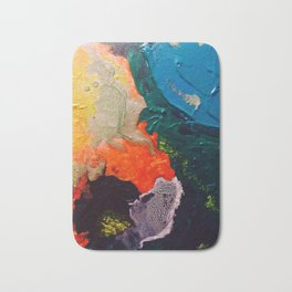 El Nino Abstract Bath Mat
