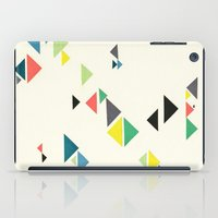 triangles iPad Cases featuring Triangles by Cassia Beck