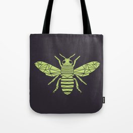 The Bee is not envious - Geometric insect design Tote Bag