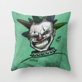 Clown 25 Throw Pillow