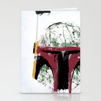 boba Stationery Cards featuring Boba by Purple Cactus
