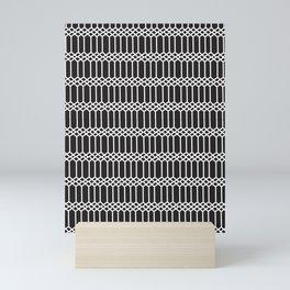 Seamless Tartan Pattern Part Mini Art Print