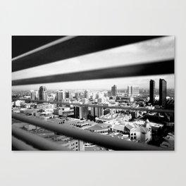 San Diego Through the Blinds Canvas Print