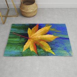 Maple Leaf Rug