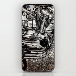 Vintage Motorcycle Engine iPhone Skin