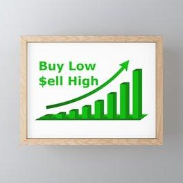 Buy Low $ell High Framed Mini Art Print